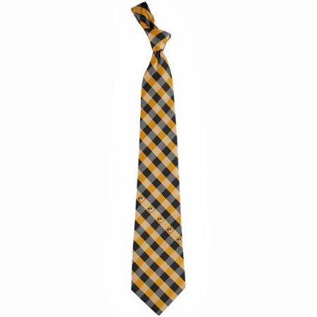 Missouri Tigers Woven Checkered Tie - Black/Gold - No Size