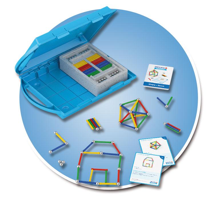 Geomag Education Elementary Classroom Set - Shape and Spa...