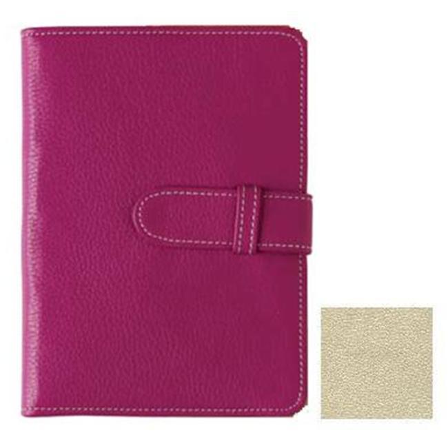 Raika ST 107 PINK Wallet Photo Brag Book - Beige