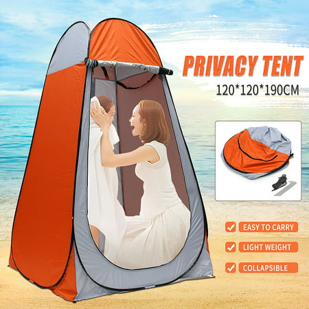 Moaere P op Up Privacy Shower Tent Portable Outdoor Sun Shelter Camp Toilet Changing Dressing Room with Mounting