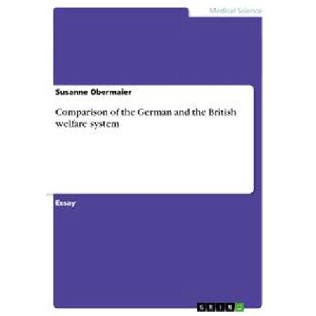 Comparison of the German and the British welfare system -