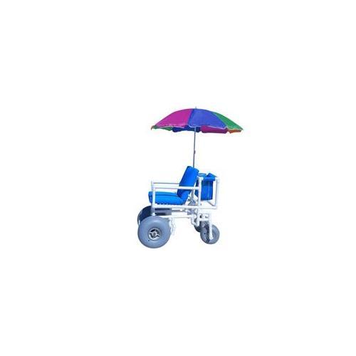 Aqua Creek F-014BAC Beach Access Chair with 2 Articulated Wheels