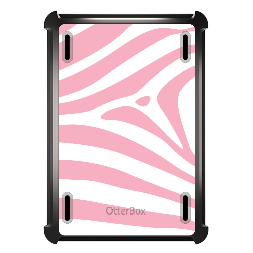 CUSTOM Black OtterBox Defender Series Case for Apple iPad...