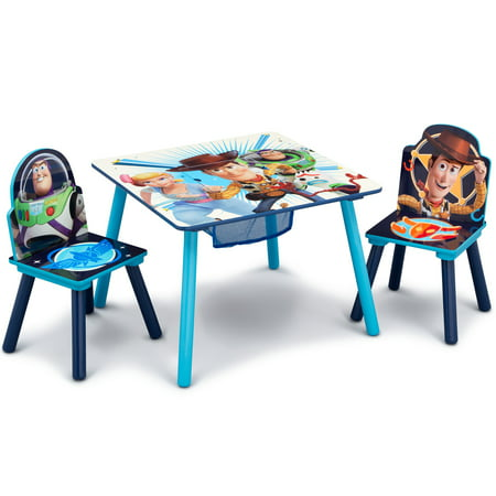 Disney/Pixar Toy Story 4 Kids Table and Chair Set with Storage by Delta Children