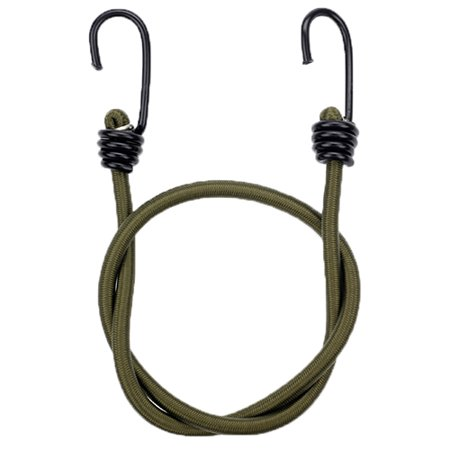 Proforce Equipment Heavy Duty Bungee Cords Olive, 4 Pack