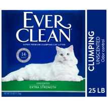 Cat Litter: Ever Clean Extra Strength