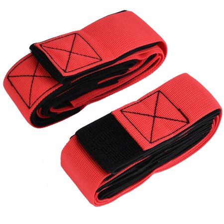 Spptty 2PCS 6 People Giants Footsteps Trams Fastening Tape Outdoor Team Games Training Equipment, Footsteps Trams - image 3 of 8