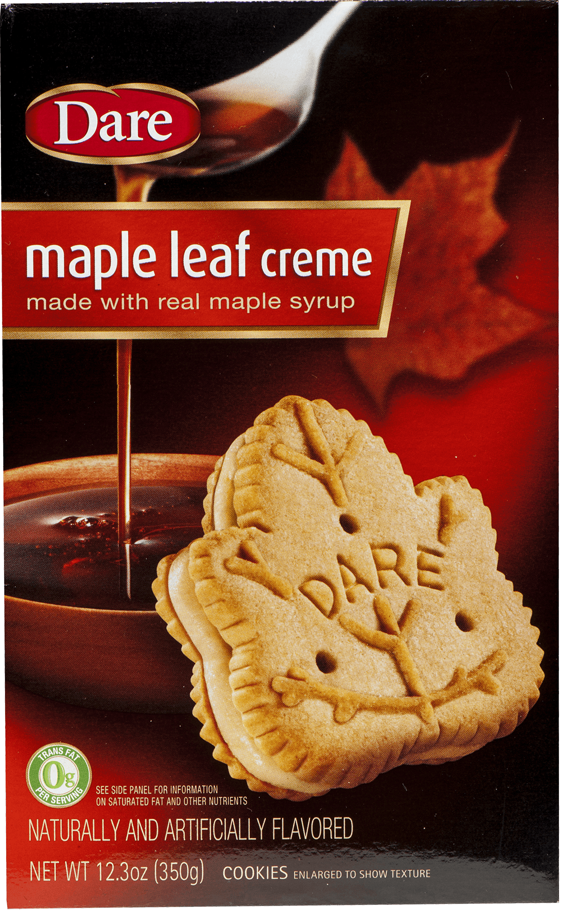 Details About Dare Maple Leaf Creme Cookies 12 3 Oz