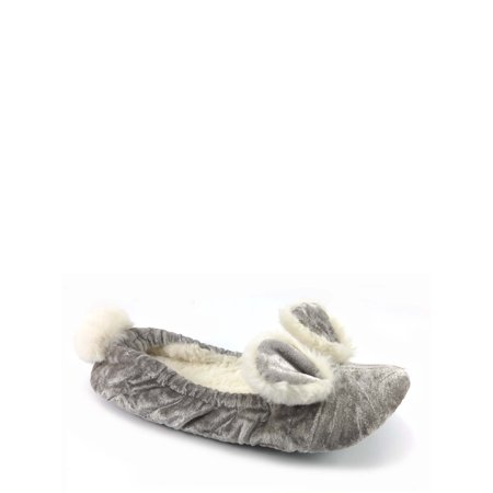 Secret Treasures Women's Critter Ballet Slipper