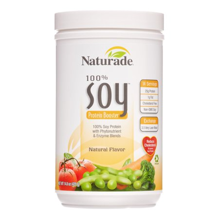Naturade Soy Protein Booster, Natural, 14.8