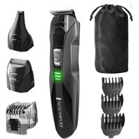 8 Pieces Remington PG6025 All-in-1 Lithium Powered Grooming Kit Trimmer