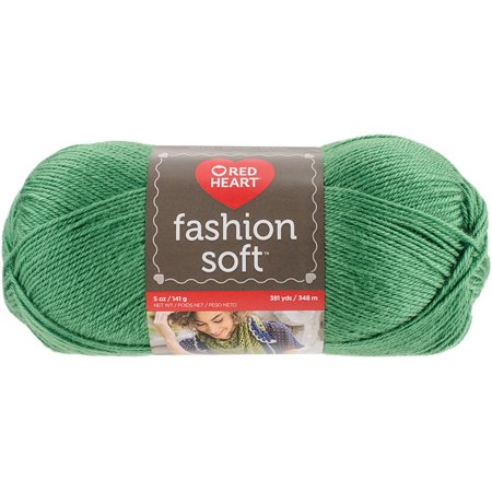 Red Heart Fashion Soft Yarn, Kelly Green