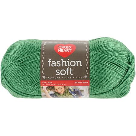Red Heart Fashion Soft Yarn, Kelly