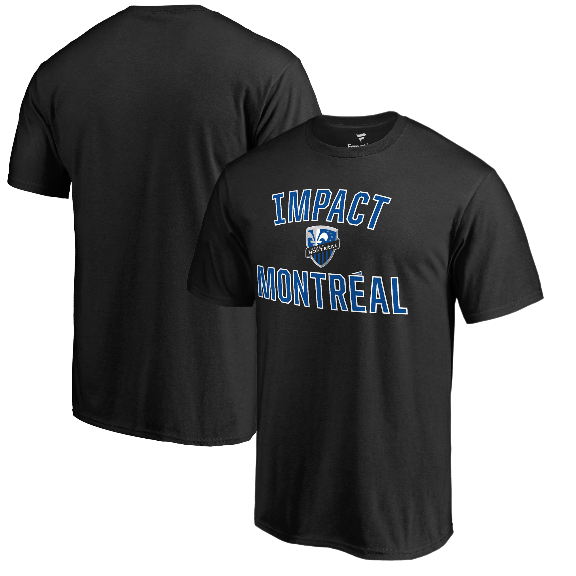 Montreal Impact Fanatics Branded Victory Arch T-Shirt - Black