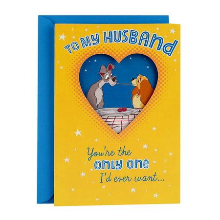 Hallmark disney lady and the tramp funny fathers day greeting hallmark disney lady and the tramp funny fathers day greeting card for husband m4hsunfo