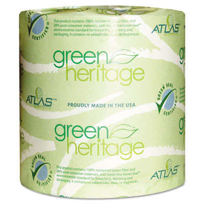 Green Heritage Toilet Tissue APM205GREEN