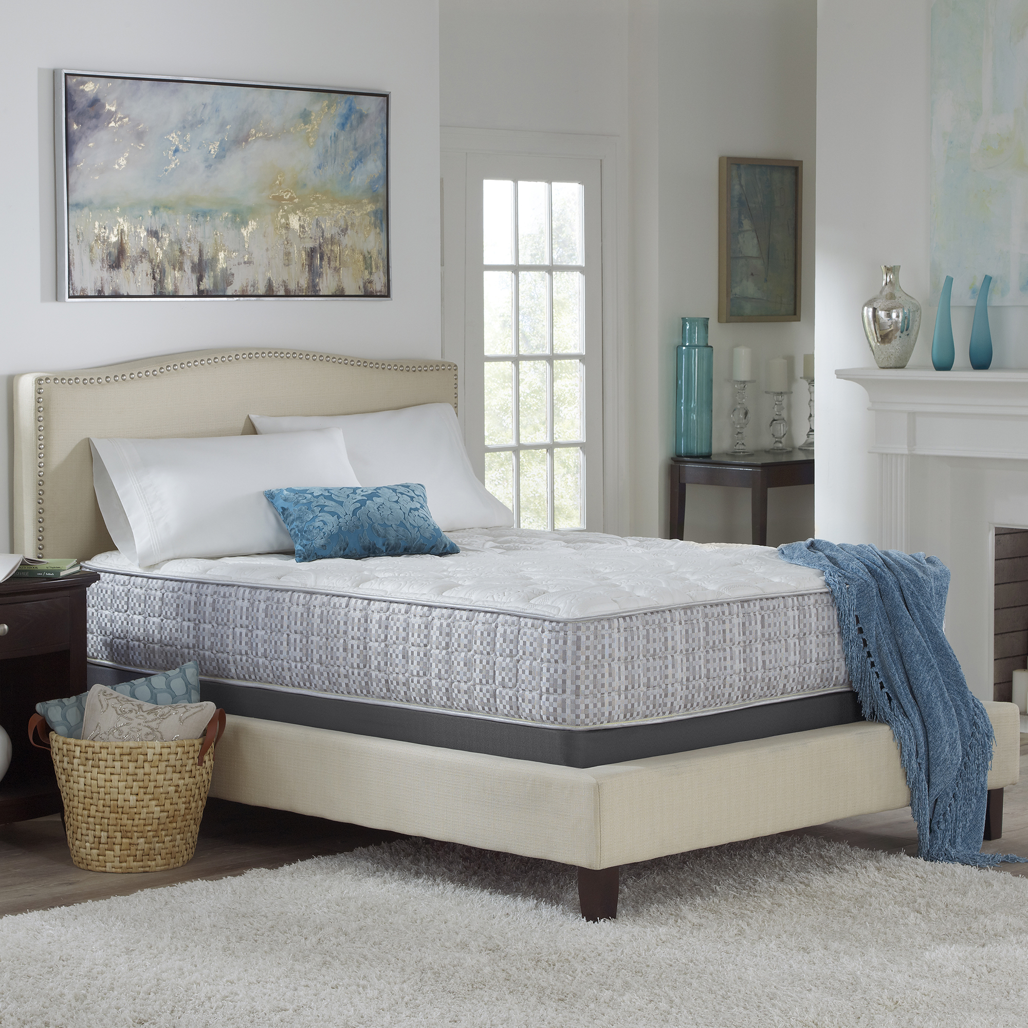 """Homestead Collection 13"""" PlatinumRest Firm Mattress with Advanced Lumbar Support, Multiple Sizes by Corsicana Mattress"""