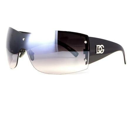 New DG Womens Sunglasses Designer Fashion Rimless Eyewear Black Shades (Designer Rimless Eyewear)