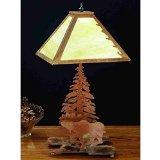 "21""H Moose On The Loose Table Lamp 32526"