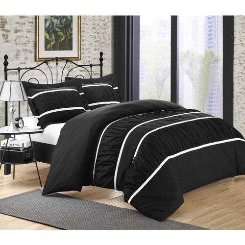 Chic Home Elizabeth 7 Piece Ruffled Duvet Cover Set