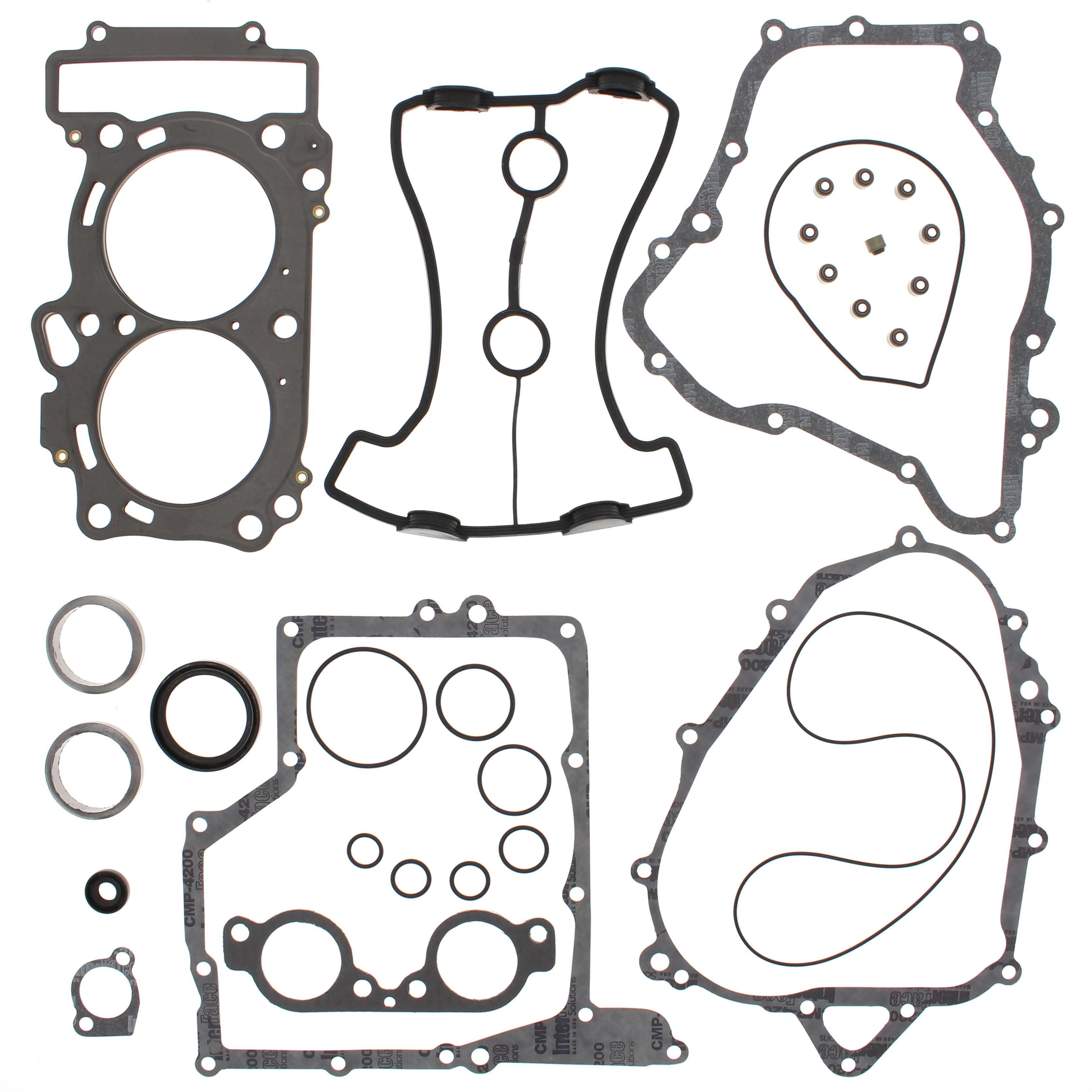 New Complete Gasket Kit w/ Oil Seals Yamaha PHAZER MTX 50...
