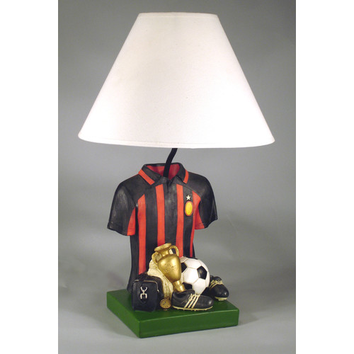 Judith Edwards Designs Soccer Shirt 21'' Table Lamp