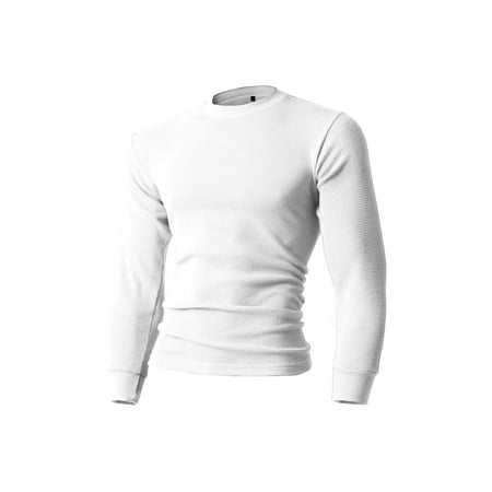 a2897d18 Ma Croix - Mens Heavyweight Thermal Shirt Soft Cotton Active Big and Tall  Stretchy Waffle Tee - Walmart.com