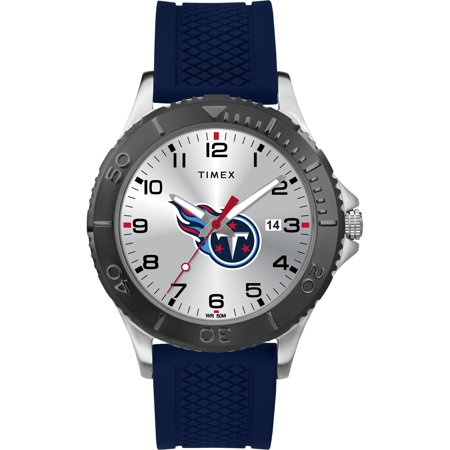 Timex - NFL Tribute Collection Gamer Blue Men's Watch, Tennessee Titans