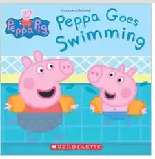 Anderson Peppa Pig Peppa Goes Swi