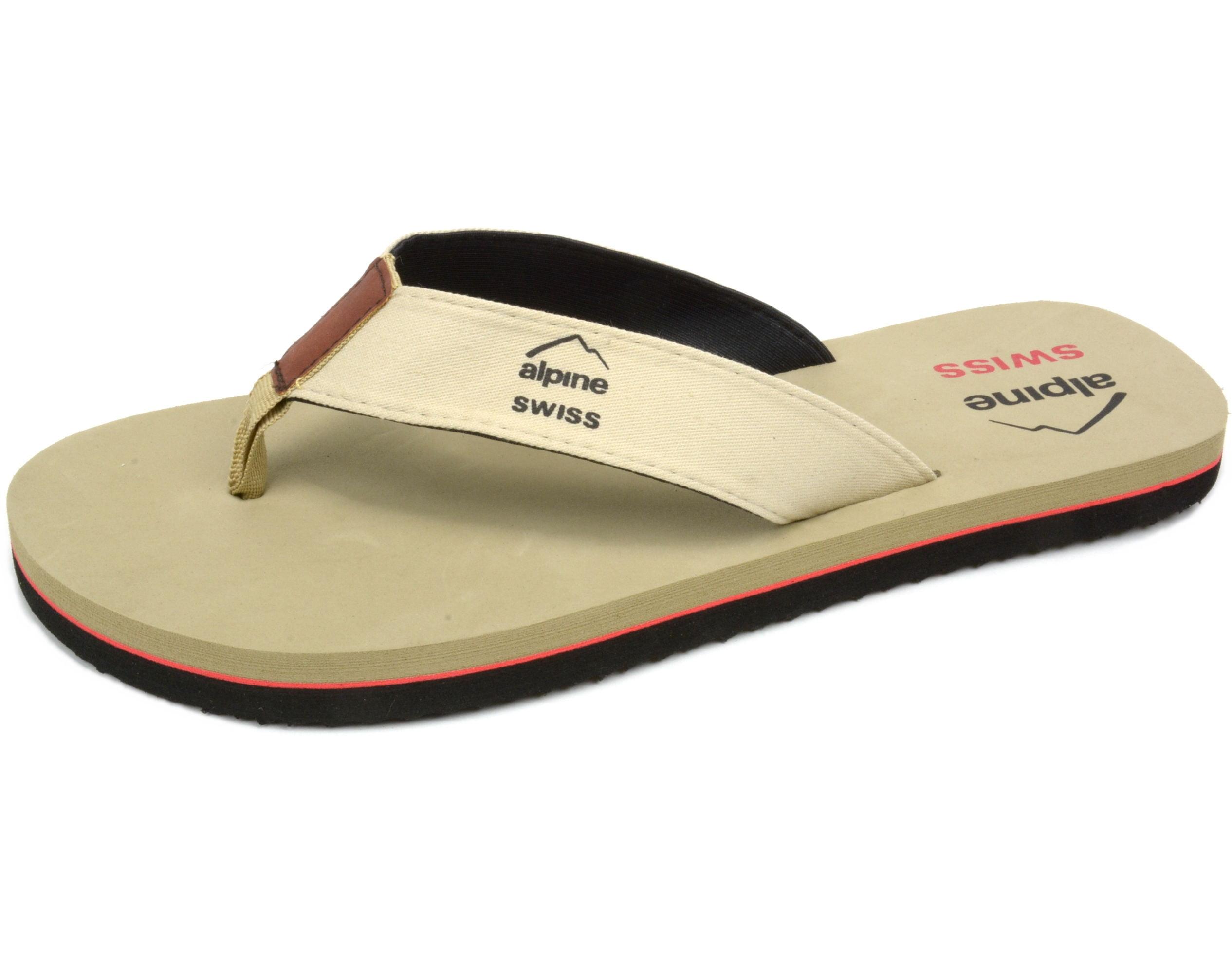 add0aa3c1 alpine-swiss - alpine swiss men s flip flops beach sandals lightweight eva sole  comfort thongs - Walmart.com
