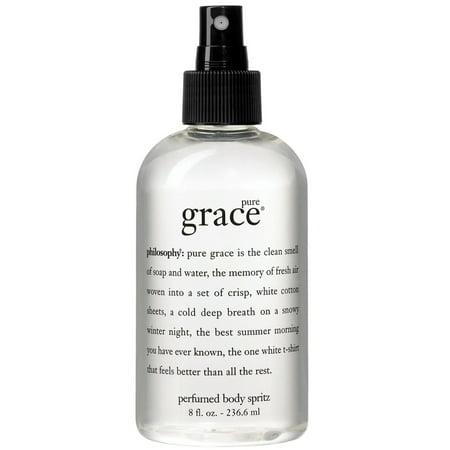 Pure Grace Body Spritz by Philosophy for Women - 8 oz Body Spray (Pure Grade)