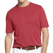 Tasso Elba NEW Red Guava Mens Medium M Crewneck Short Sleeve Tee T-Shirt
