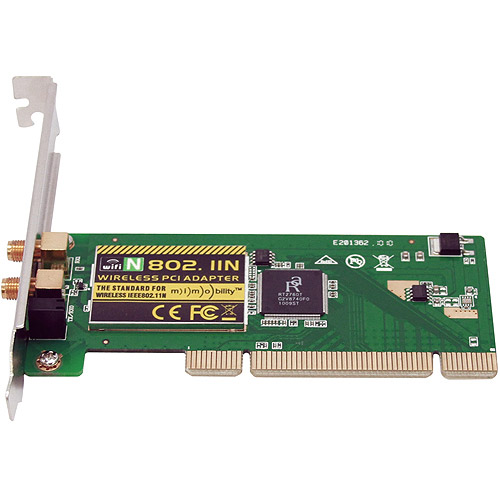 Sabrent Wireless 802.11n 300 Mbps PCI Internal Network Card PCI-802N
