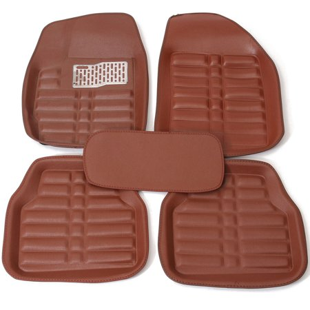 5Pcs/Set Universal Car Floor Mats Front & Rear Liner Waterproof Auto Mat (Best Waterproof Car Floor Mats)