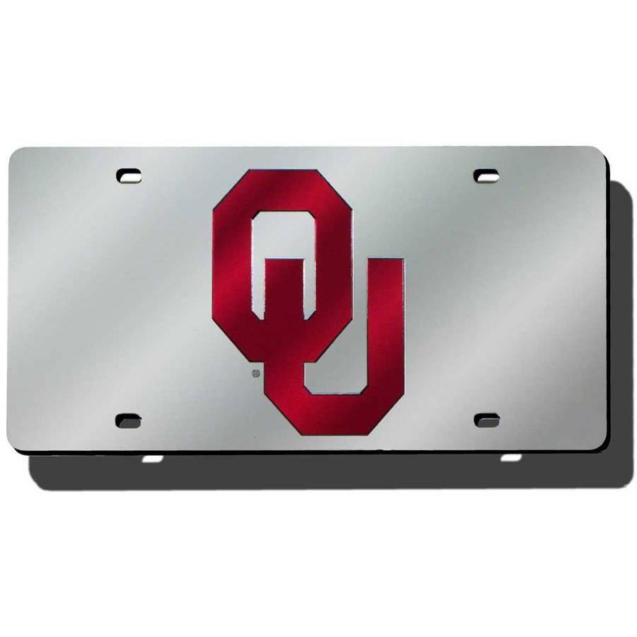 NCAA Oklahoma Laser Tag License Plate