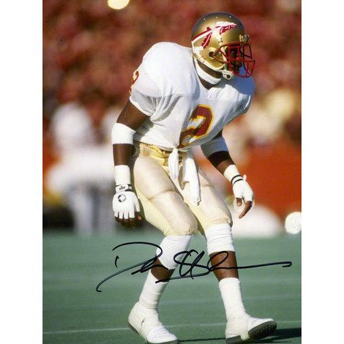 NCAA - Deion Sanders Autographed 8x10 Photograph   Details: Florida State Seminoles