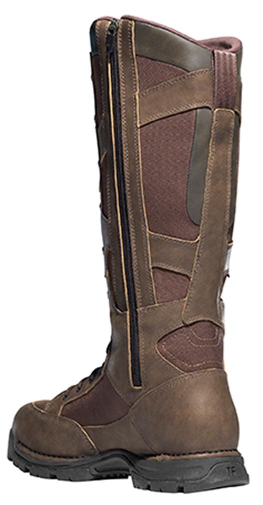 Danner Men Pronghorn Side-Zip 17' Snake Boots 12 D US by Lacrosse Footwear Inc.