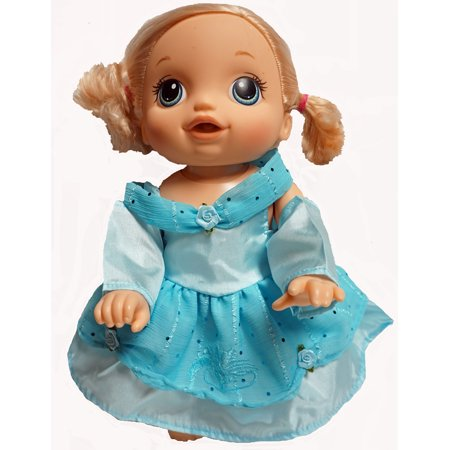 Cinderella Inspired Princess Dress Fits Little Baby Dolls And Baby Alive Go