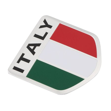 Automobiles & Motorcycles Provided New 3d Aluminum Italy Map National Flag Car Sticker Car Styling For Fiat Iveco Lamborghini Alfa Romeo Detomaso Maserati Zagato