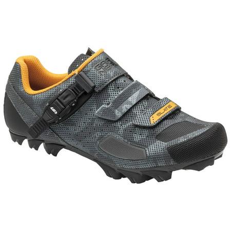 Louis Garneau Men's Slate 2 MTB Bike Shoes, Camo Charcoal, US (8), EU (Louis Garneau Ergo Air Pro 2 Road Shoes)