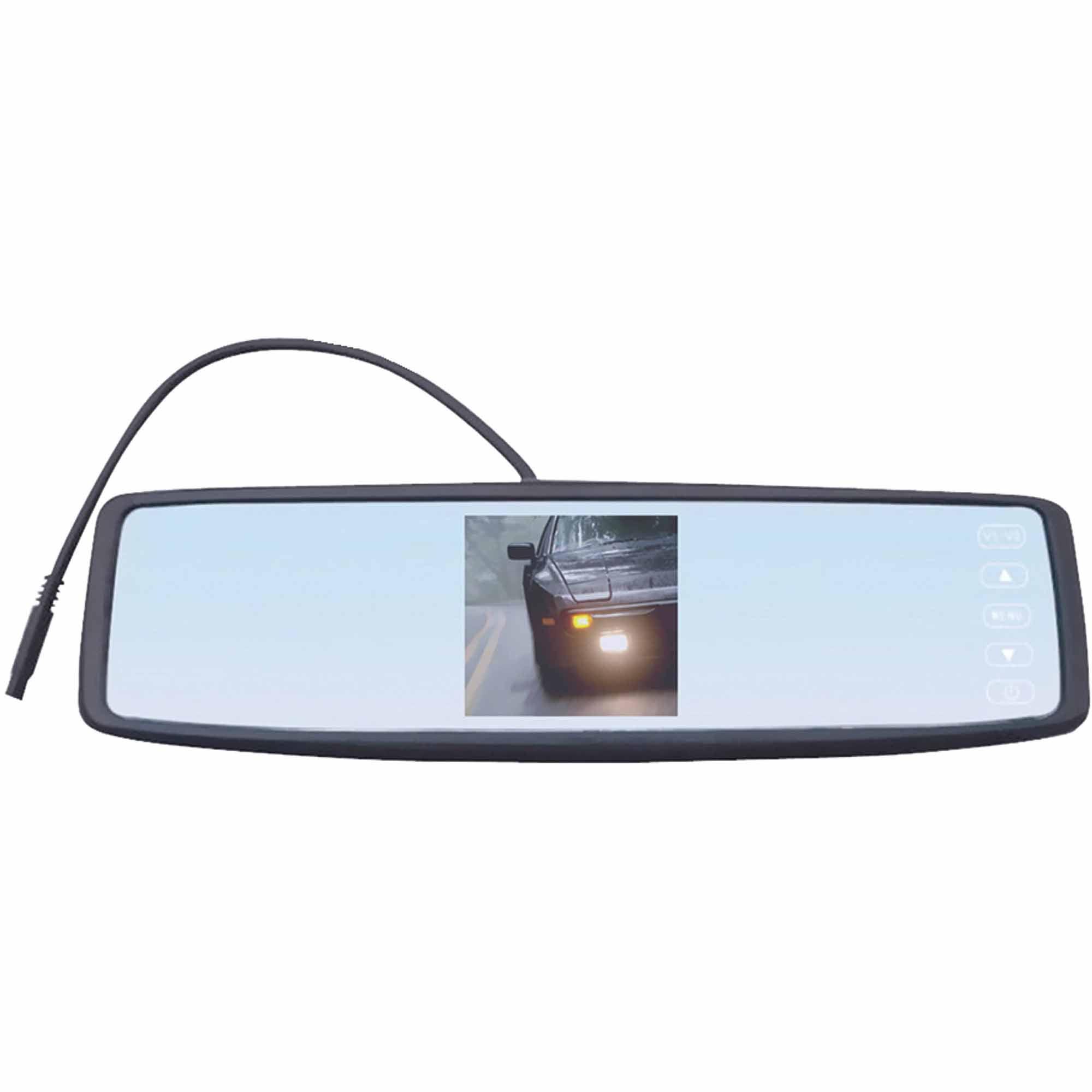 Sound Around Pyle PLCM4300WIR Wireless Rear View Mirror Backup Camera with Night Vision