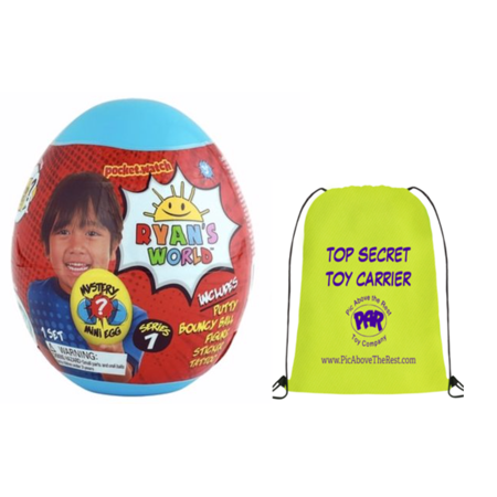 Ryan's World Mini Mystery Egg - Series 7 - Blue Egg](Halloween Egg Surprise)