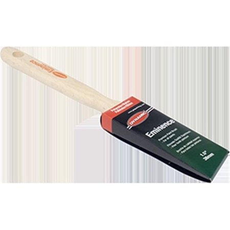 1.5' Sash Brush - Dynamic HB187704 1.5 in. Eminence Angled Sash Polyester Nylon Brush