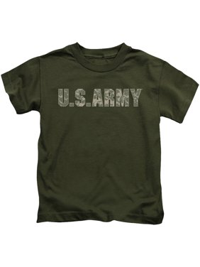 Army - Camo - Juvenile Short Sleeve Shirt - 7