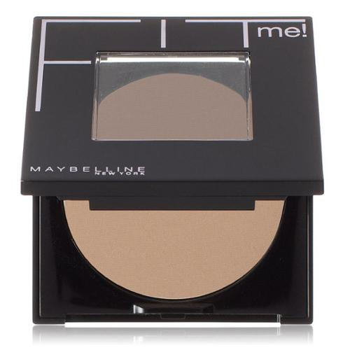 Maybelline New York Fit Me! Pressed Powder, Buff Beige [130] 0.30 oz (Pack of 6)