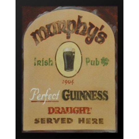 buyartforless Murphys Irish Pub Framed Wall Art by David Marrocco