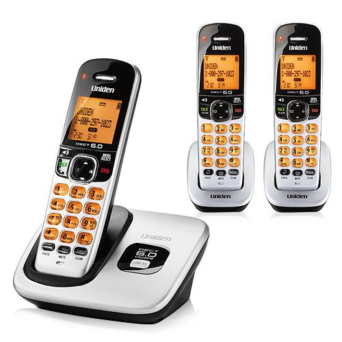 Uniden D1760 DECT 60 Cordless Phones
