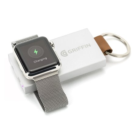 Griffin Travel Power Bank Backup Battery   For Smartwatch   1050 Mah   5 V Dc Input   1 X   White