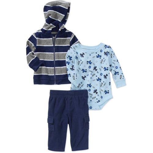 Garanimals  Newborn Boys' 3 Piece  Fleec