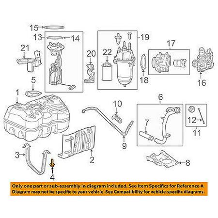 - Ram CHRYSLER OEM 2014 ProMaster 2500 Fuel Gas Tank-Support Strap Bolt 6509797AA